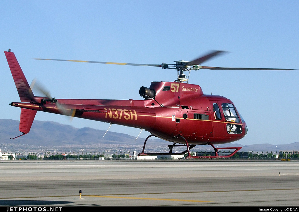 N37SH - Eurocopter AS 350B2 Ecureuil - Sundance Helicopters
