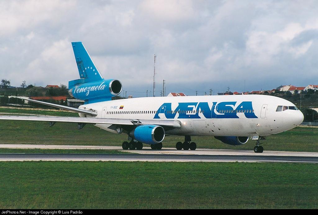 YV-50C - McDonnell Douglas DC-10-30 - AVENSA - Aerovías Venezolanas
