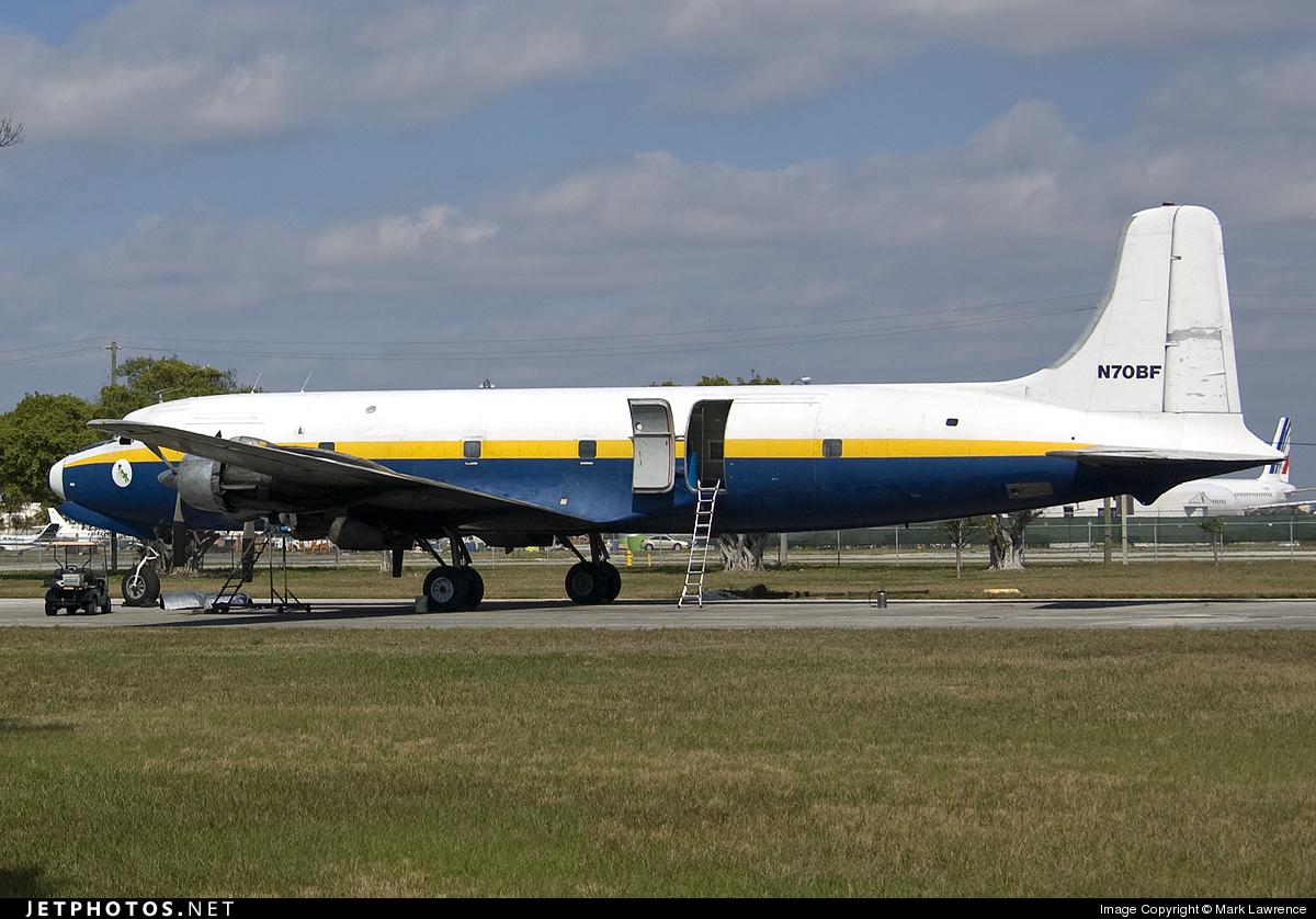 N70BF - Douglas DC-6A Liftmaster - Florida Air Transport