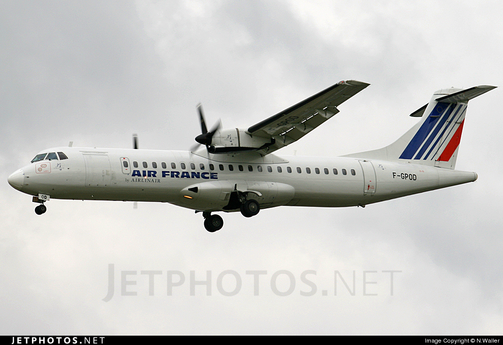F-GPOD - ATR 72-202(QC) - Air France (Airlinair)