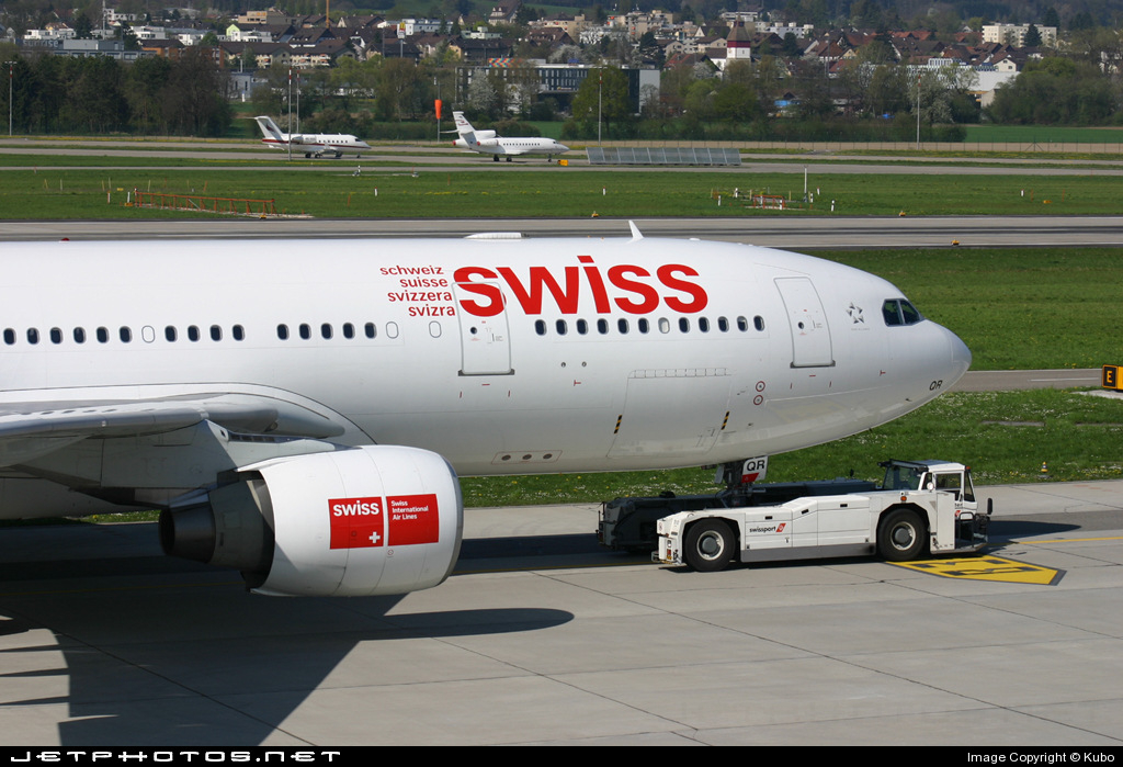HB-IQR - Airbus A330-223 - Swiss