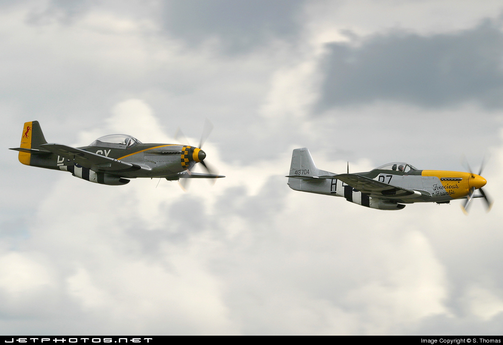 G-BTCD - North American P-51D Mustang - Breitling Fighters