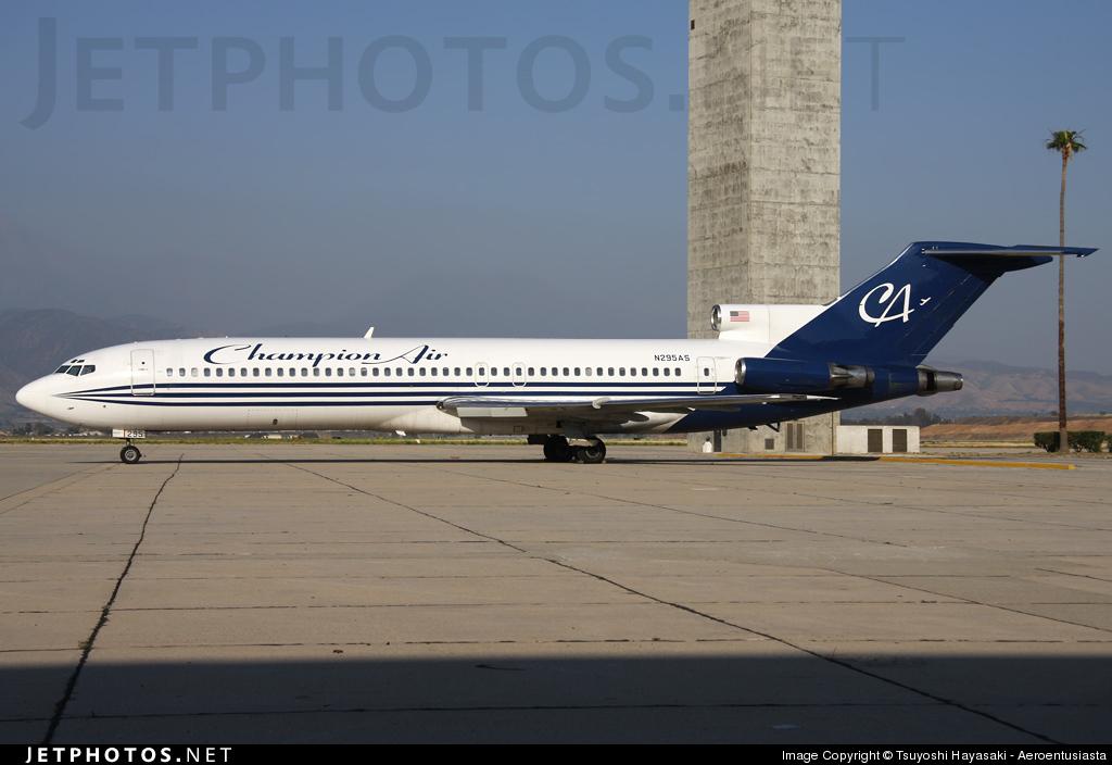 N295AS - Boeing 727-290(Adv) - Champion Air