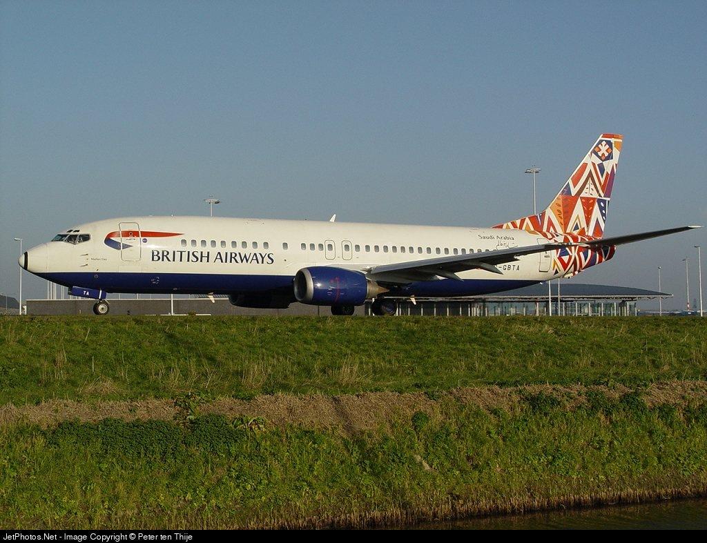 G-GBTA - Boeing 737-436 - British Airways