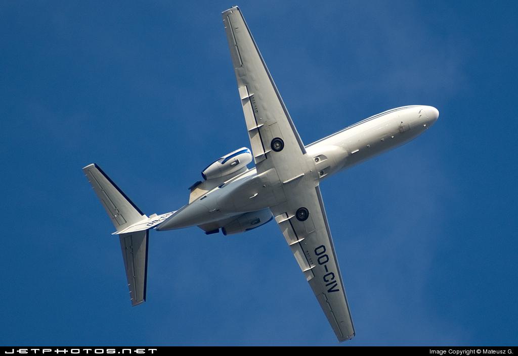OO-CIV - Cessna 525A CitationJet 2 - Sky Service