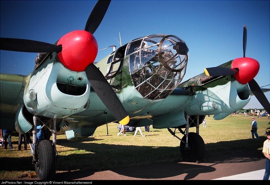N72615 - Heinkel He-111 - American Airpower Heritage Museum