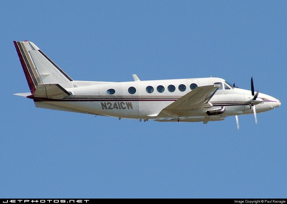 N241CW - Beechcraft B100 King Air - Private