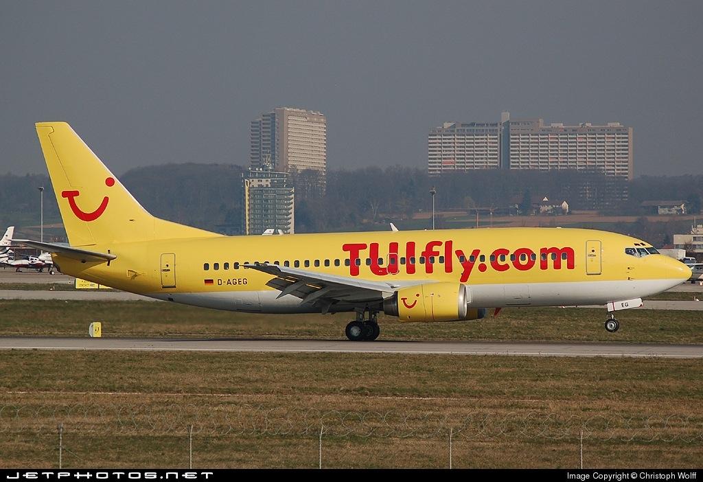 D-AGEG - Boeing 737-35B - TUIfly (Germania)