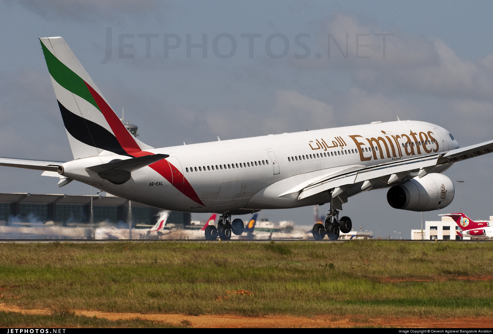 A6-EAL - Airbus A330-243 - Emirates