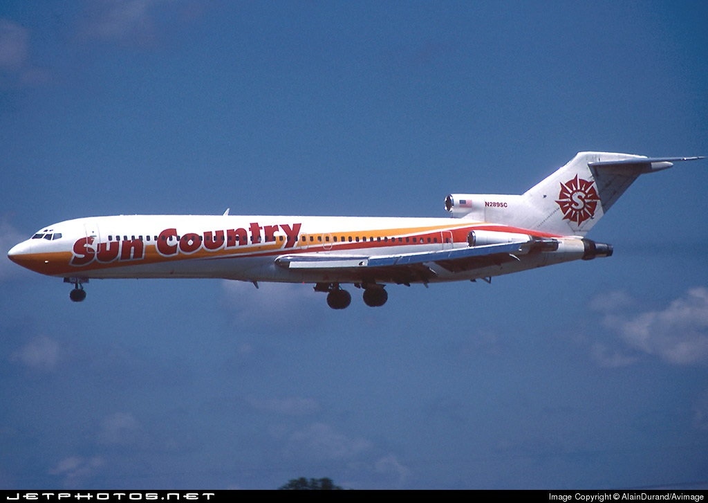 N289SC - Boeing 727-259(Adv) - Sun Country Airlines