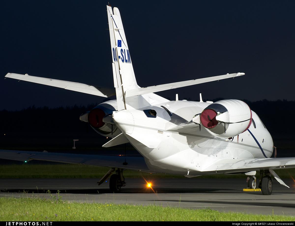 OO-SLM - Cessna 560XL Citation XLS - Abelag Aviation