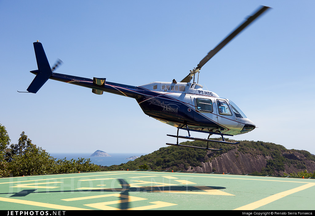 PT-HTC - Bell 206B JetRanger III - Helisul Taxi Aéreo