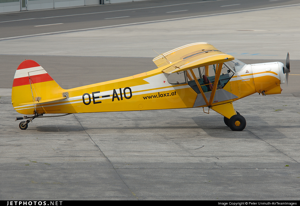 OE-AIO - Piper PA-18-180M Super Cub - Sportfliegergruppe Kondor