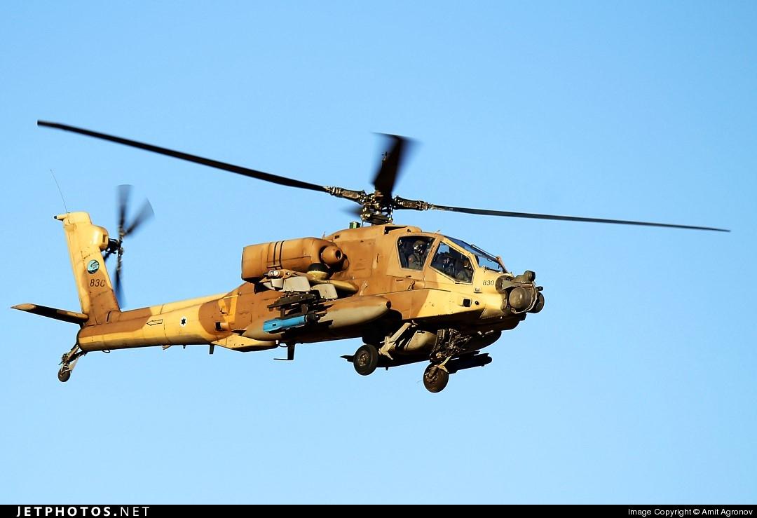 830 - Boeing AH-64D Peten - Israel - Air Force