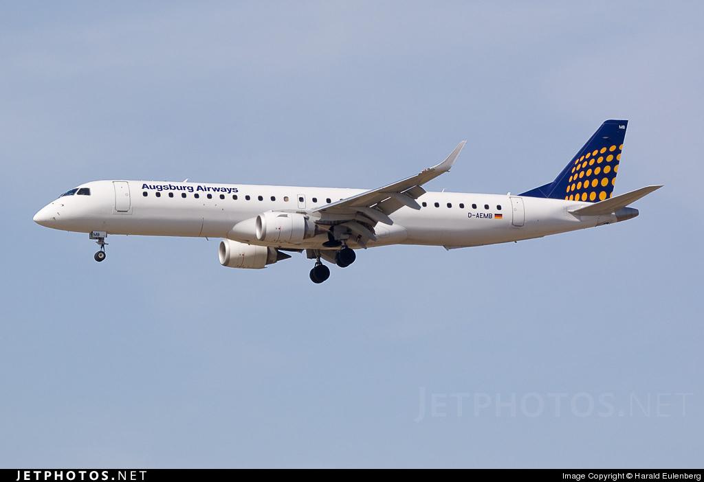 D-AEMB - Embraer 190-200LR - Augsburg Airways