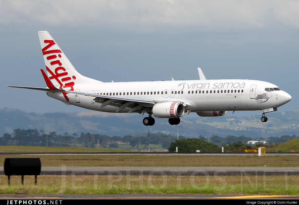 ZK-PBF - Boeing 737-8FE - Virgin Samoa Airlines