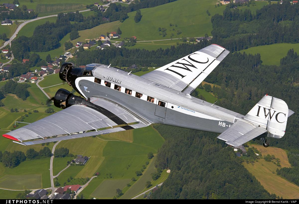 HB-HOS - Junkers Ju-52/3m - Ju-Air