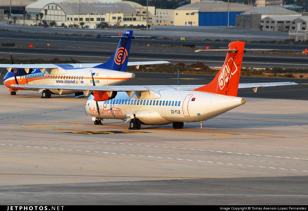 D2-FLB - ATR 72-202 - Fly540 Angola