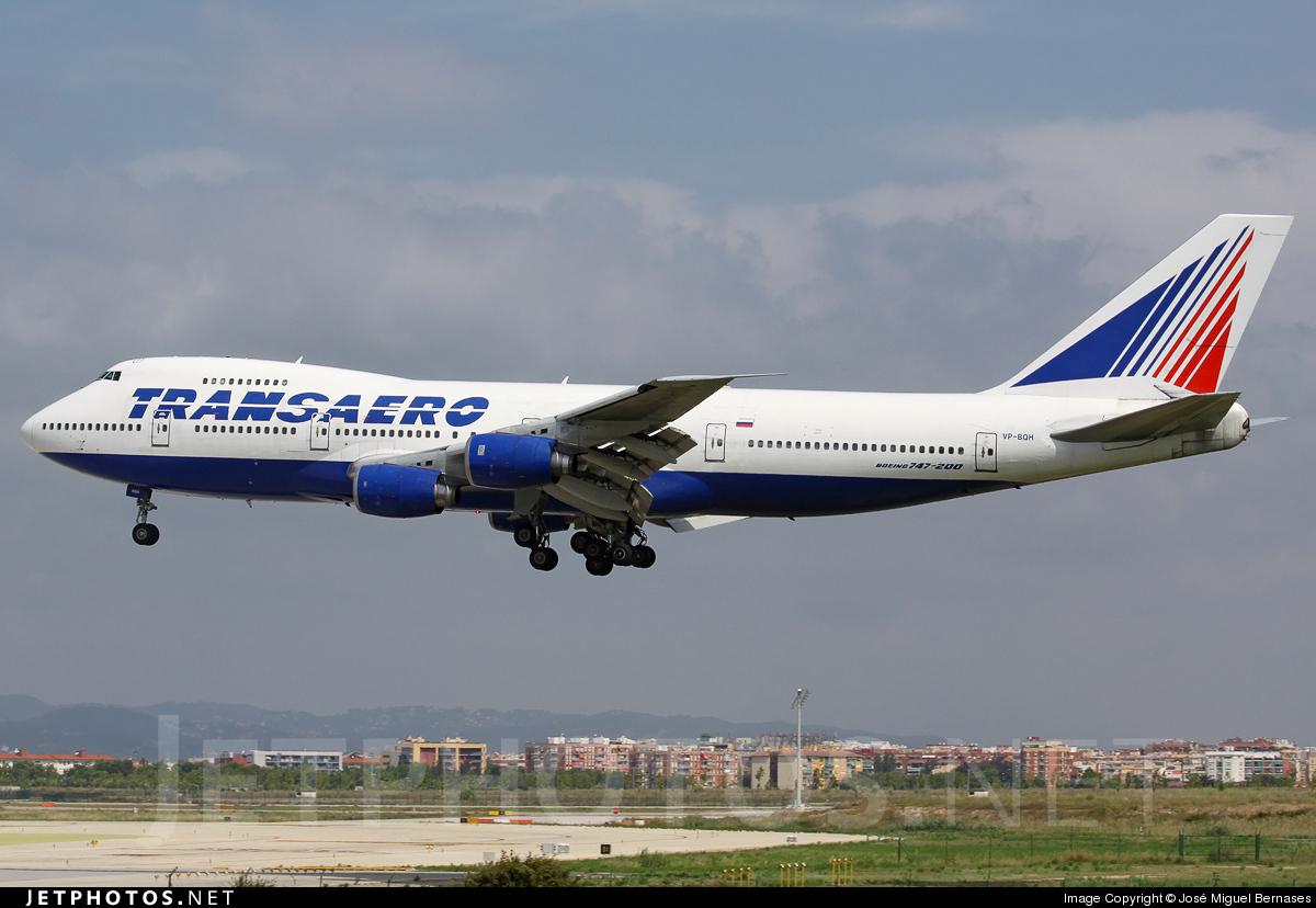 VP-BQH - Boeing 747-219B - Transaero Airlines