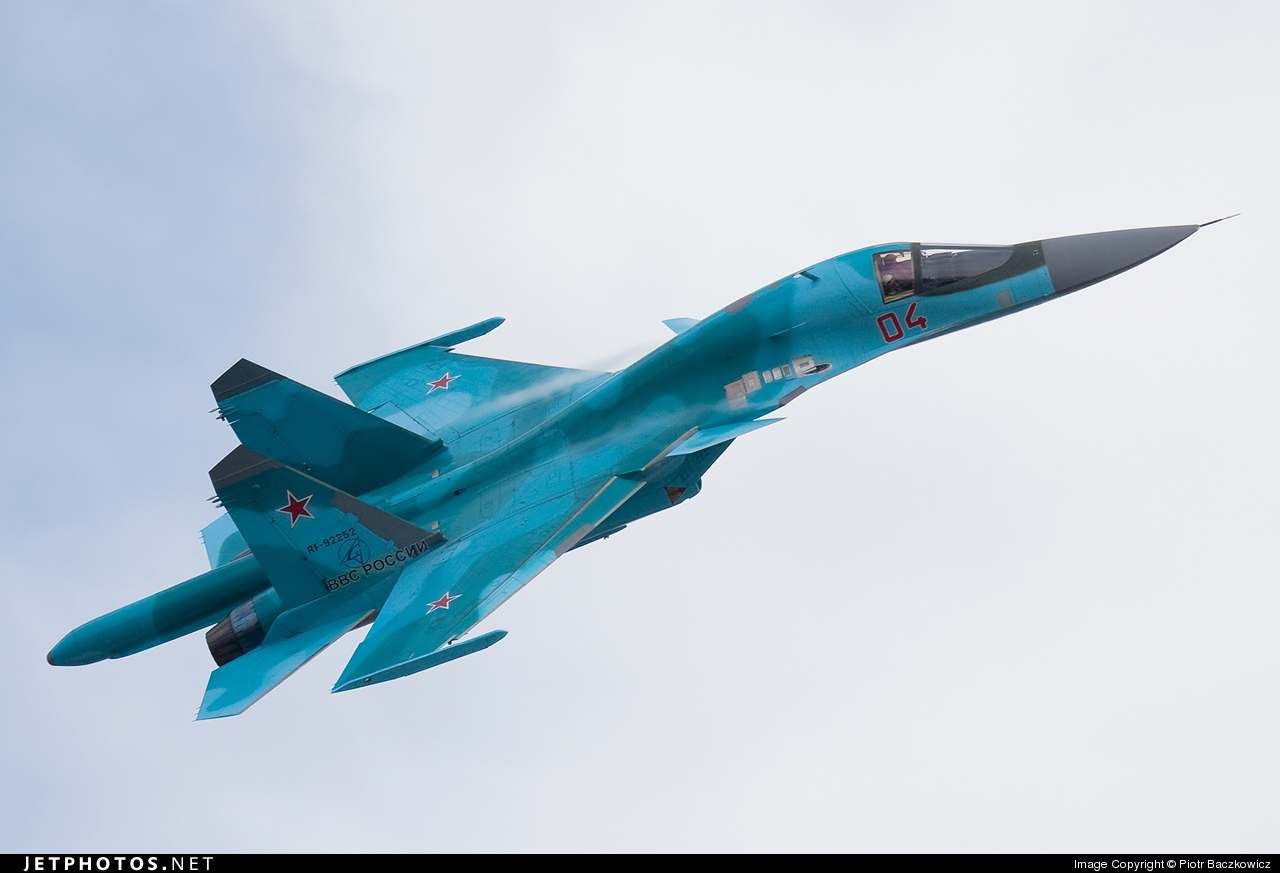 RF-92252 - Sukhoi Su-34 Fullback - Russia - Air Force