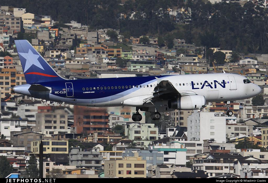 HC-CLD - Airbus A320-233 - LAN Ecuador