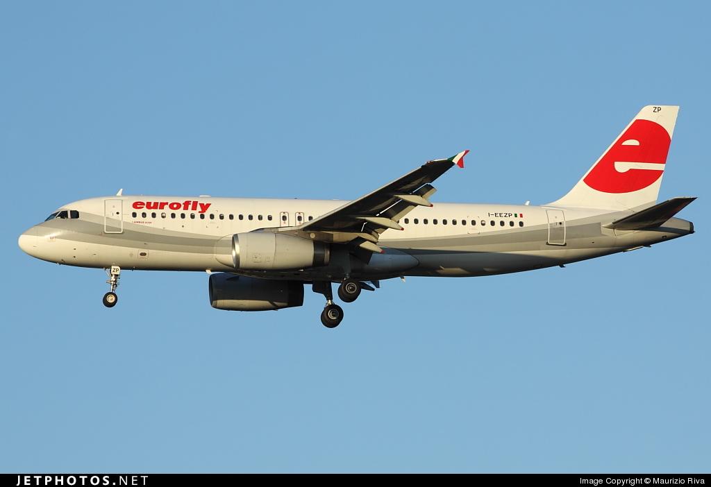 I-EEZP - Airbus A320-233 - Eurofly