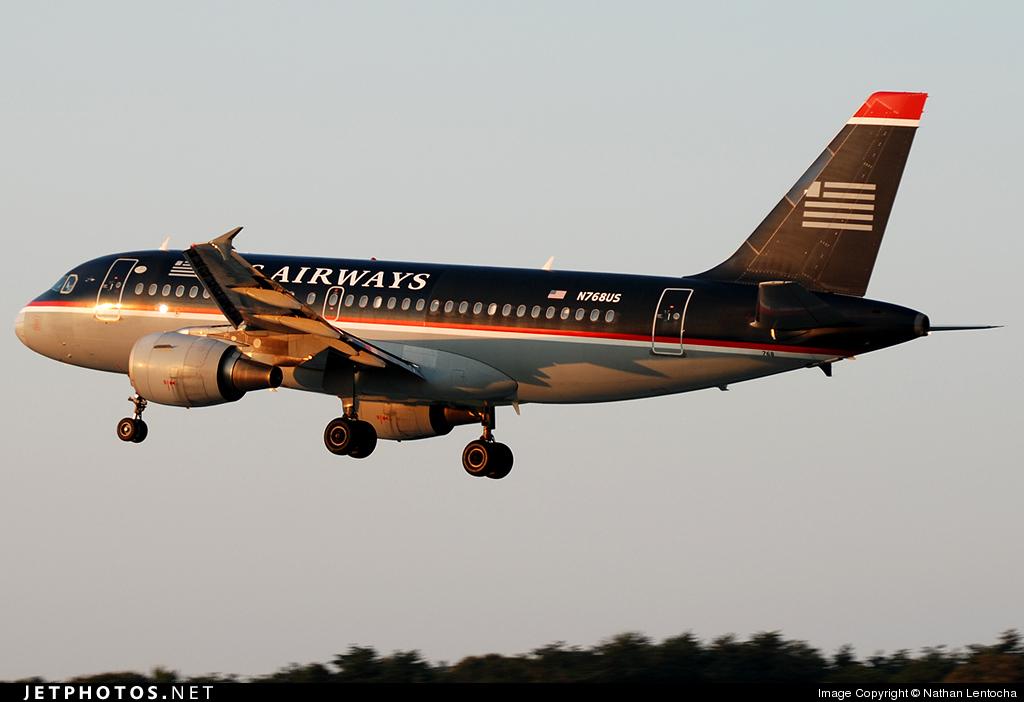 N768US - Airbus A319-112 - US Airways