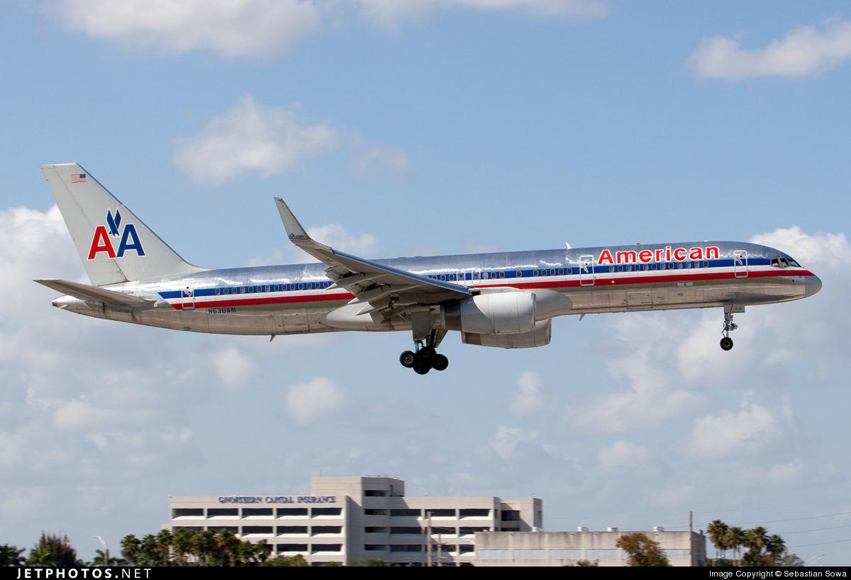 N636AM - Boeing 757-223 - American Airlines