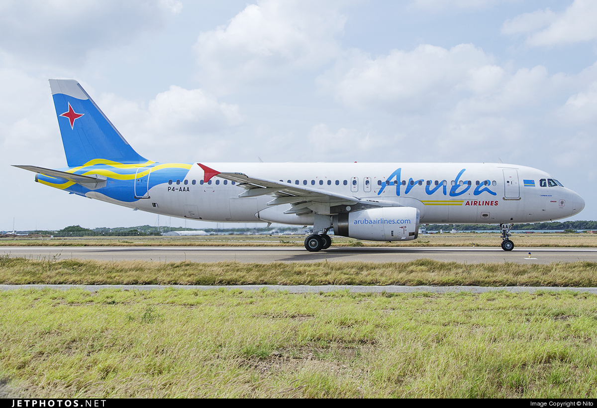 P4-AAA - Airbus A320-232 - Aruba Airlines