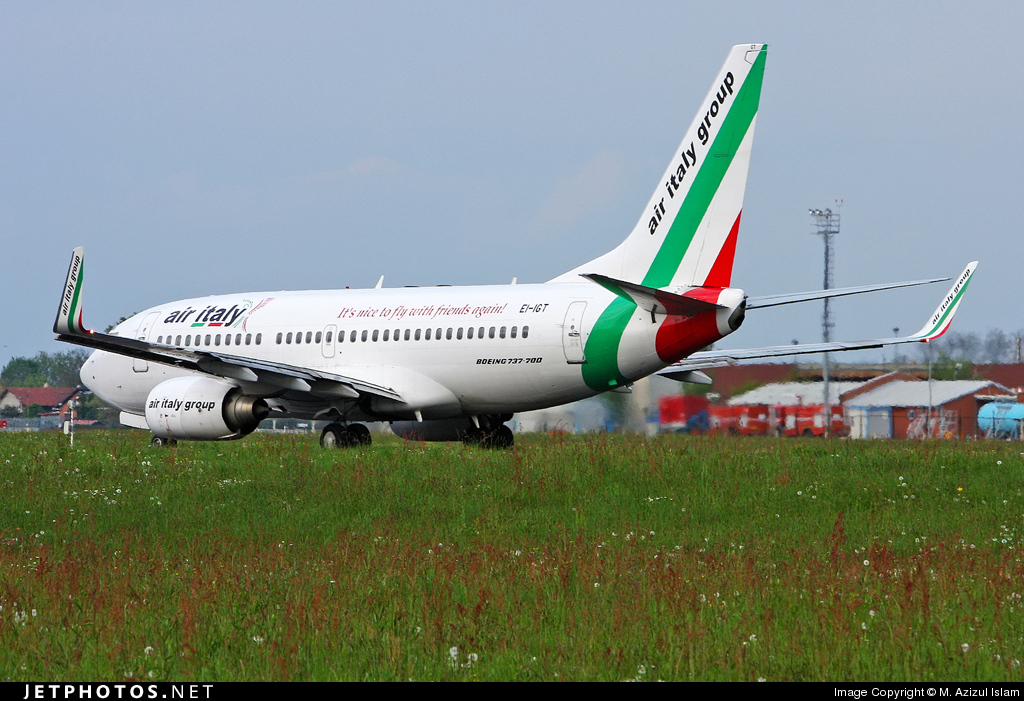 EI-IGT - Boeing 737-73V - Air Italy