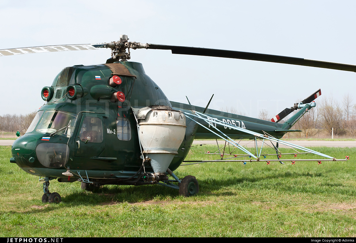 RF-00574 - PZL-Swidnik Mi-2 Hoplite - Russia - Voluntary Society for Assistance to the Army, Air Force and Navy (DOSAAF)