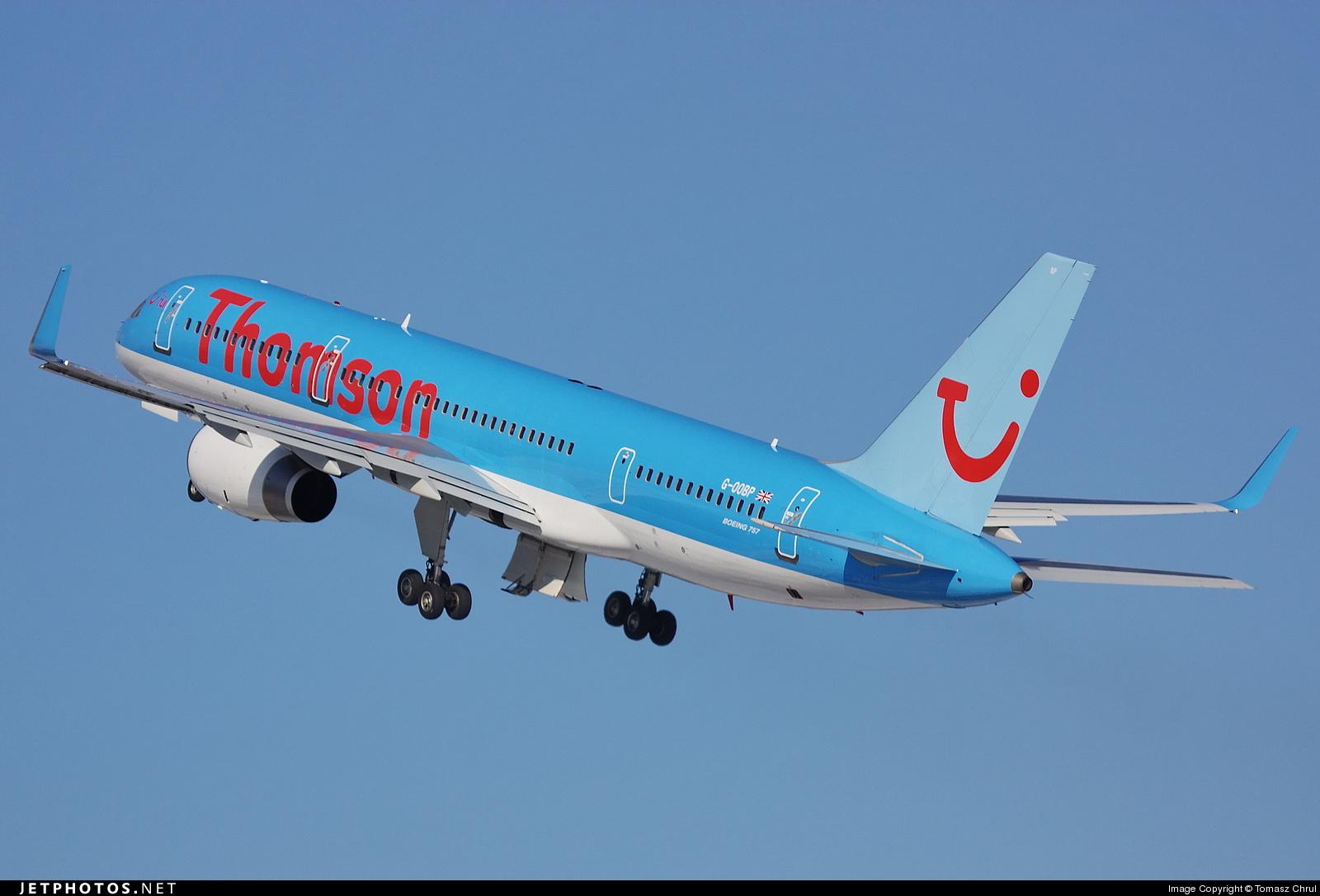 G-OOBP - Boeing 757-2G5 - Thomson Airways