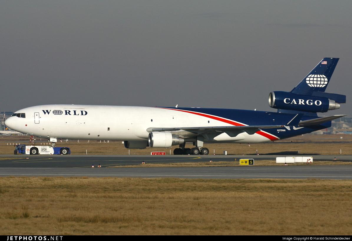 N279WA - McDonnell Douglas MD-11(F) - World Airways Cargo