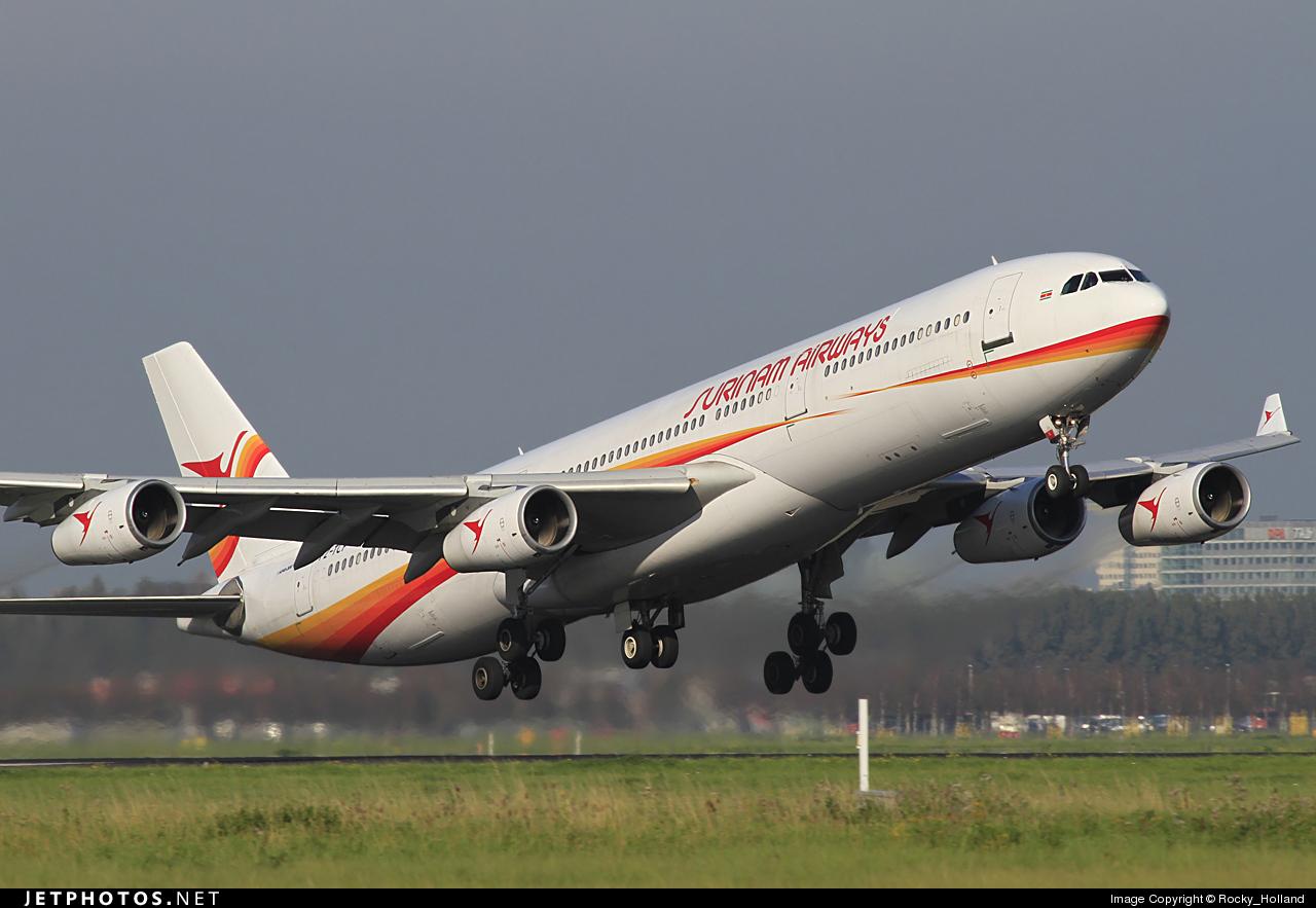 PZ-TCP - Airbus A340-311 - Surinam Airways