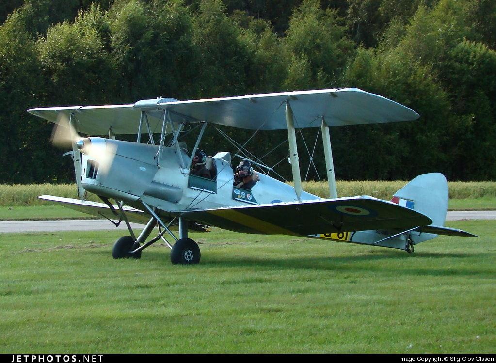 SE-AMI - De Havilland DH-82A Tiger Moth - Private