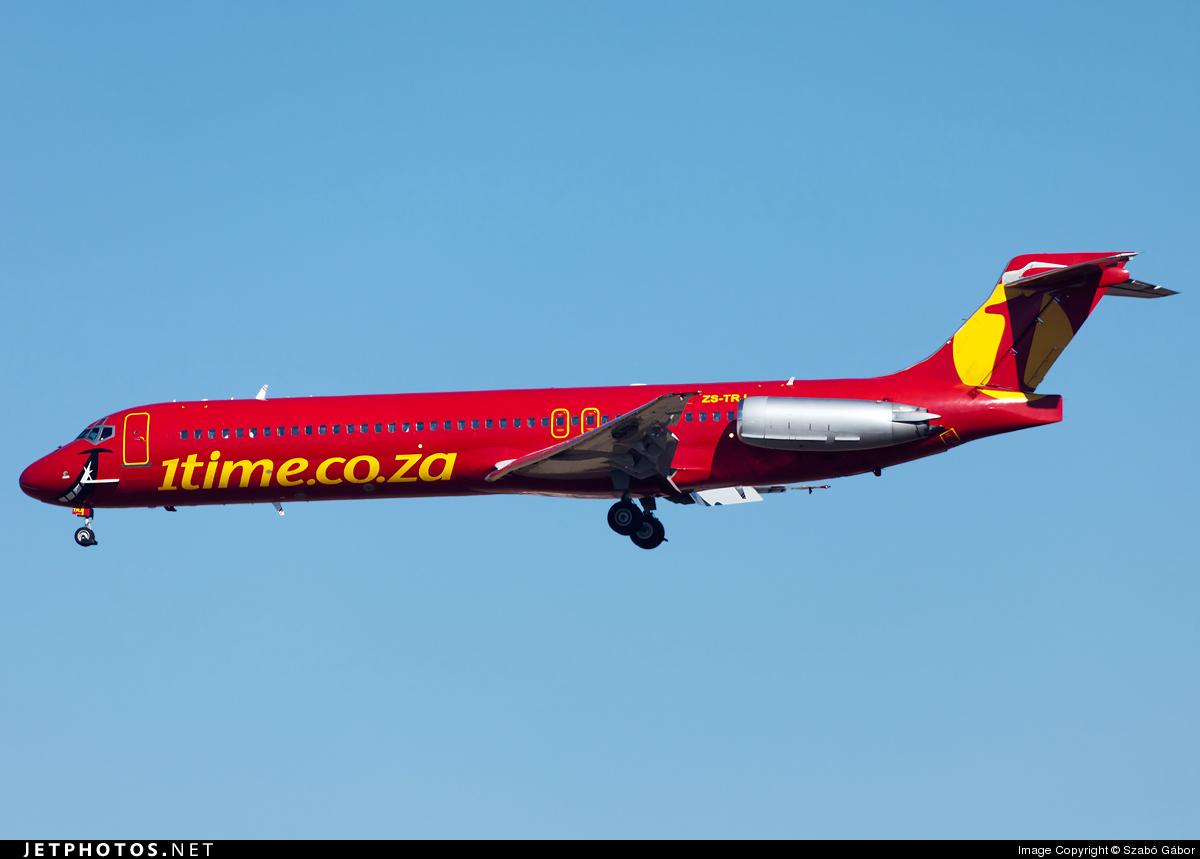 ZS-TRJ - McDonnell Douglas MD-87 - 1Time Airline