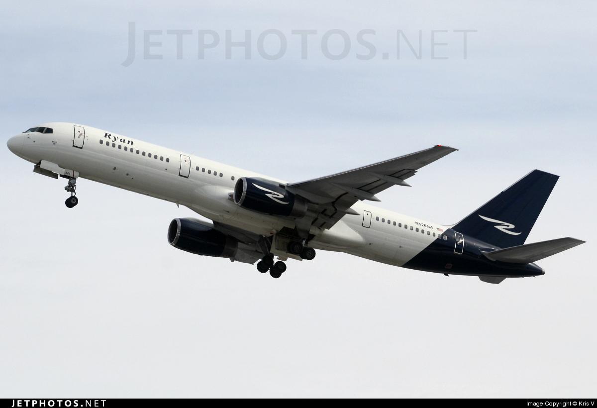 N526NA - Boeing 757-236 - Ryan International Airlines