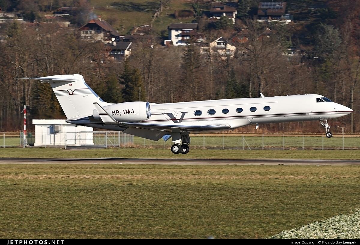 HB-IMJ - Gulfstream G-V - G5 Executive