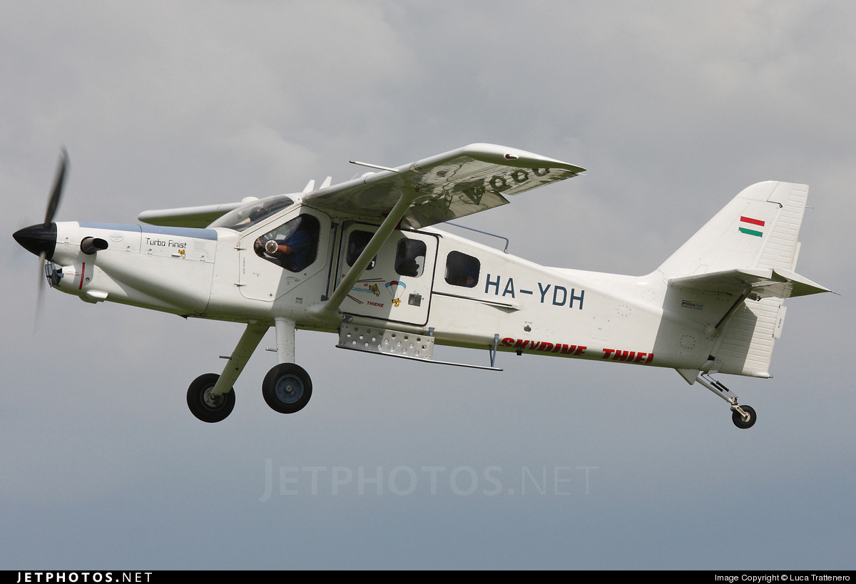 HA-YDH - Technoavia SMG-92 Turbo-Finist - Skydive Thiene