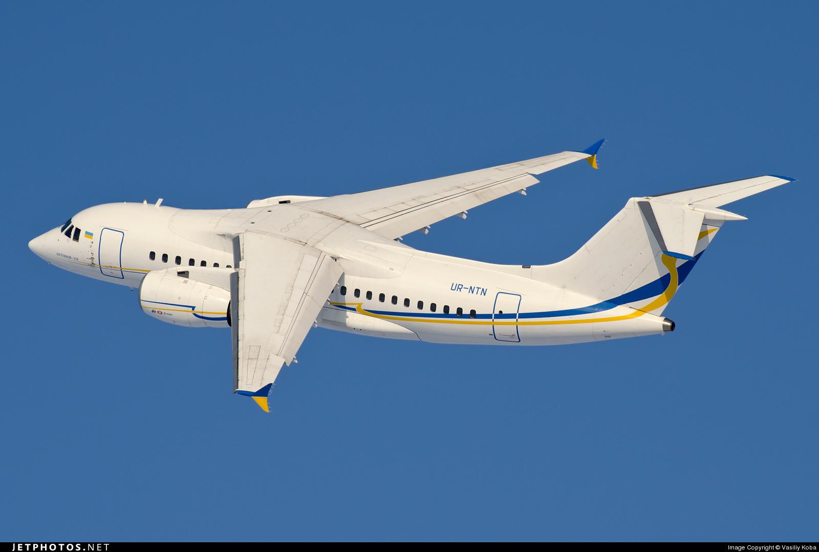 UR-NTN - Antonov An-158-100B - Antonov Airlines