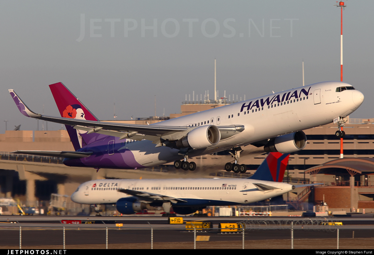 N590HA - Boeing 767-3CB(ER) - Hawaiian Airlines
