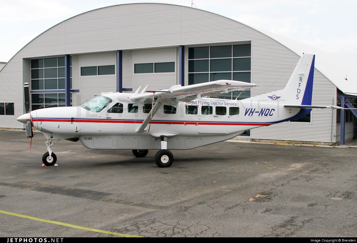 VH-NQC - Cessna 208B Grand Caravan - Royal Flying Doctor Service of Australia (Queensland Section)
