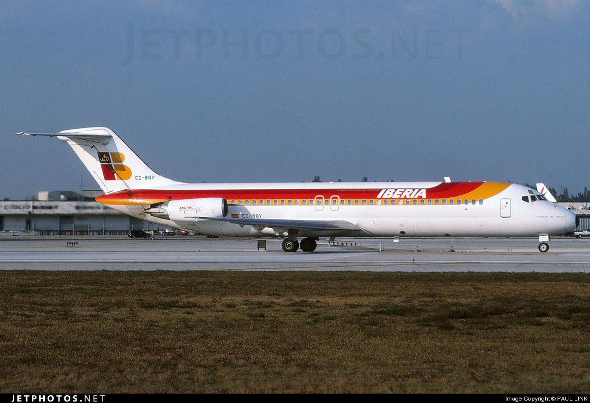 EC-BQV - McDonnell Douglas DC-9-32 - Iberia