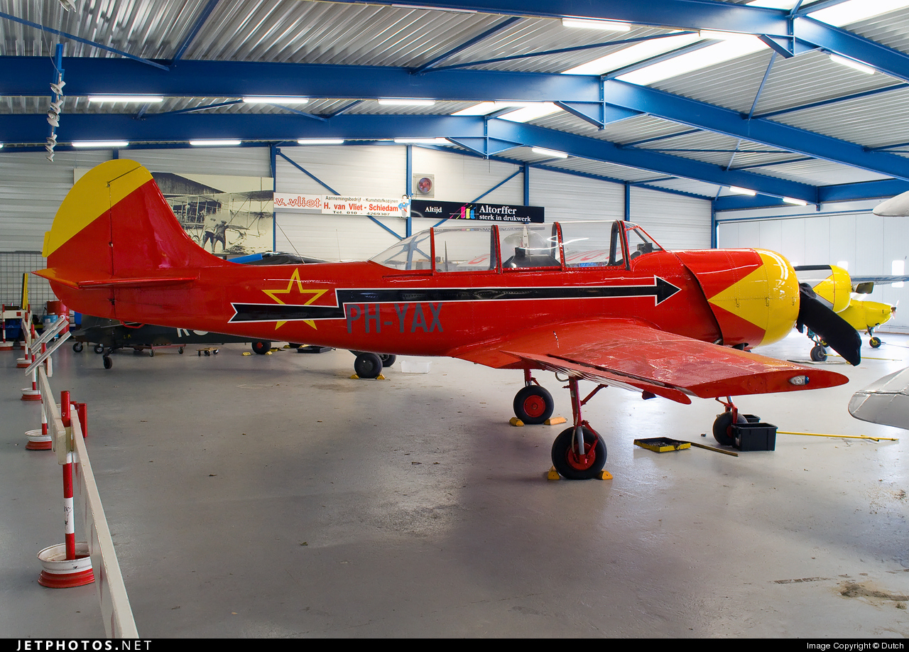PH-YAX - Yakovlev Yak-52 - Yakkes Foundation
