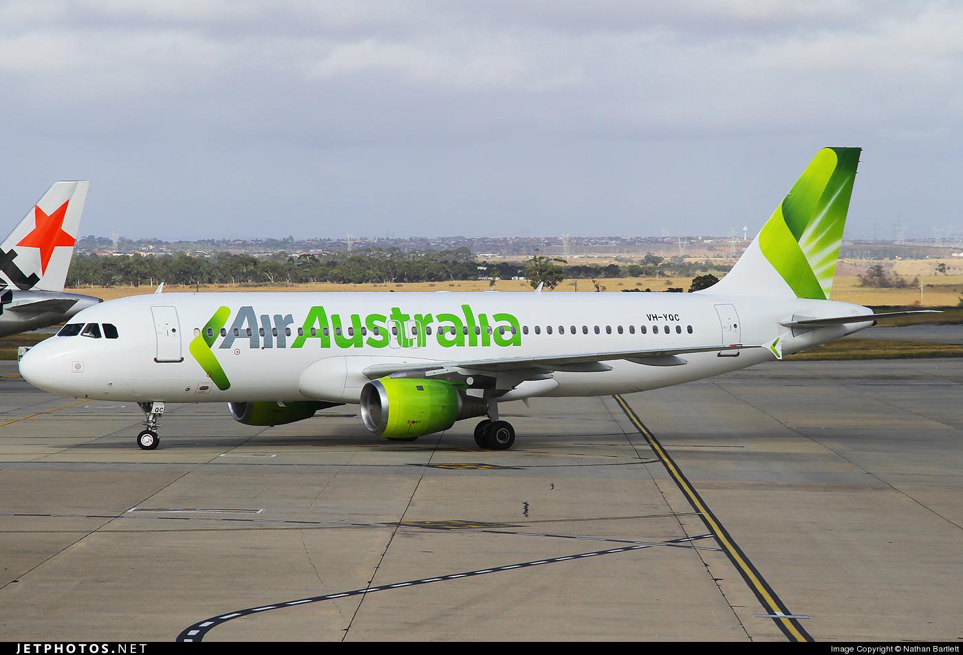 VH-YQC - Airbus A320-212 - Air Australia