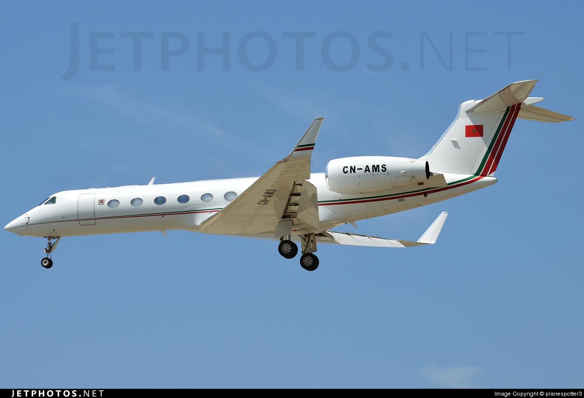 CN-AMS - Gulfstream G550 - Morocco - Air Force