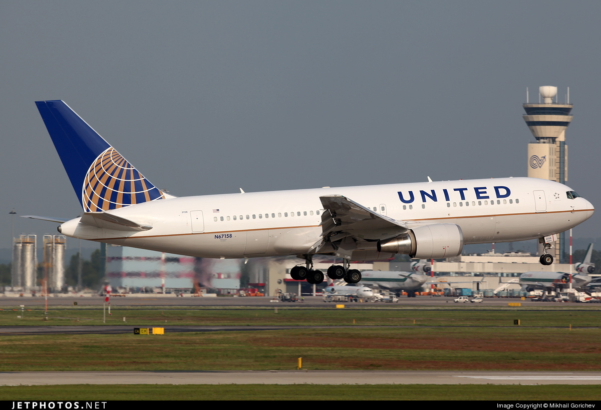 N67158 - Boeing 767-224(ER) - United Airlines (Continental Airlines)