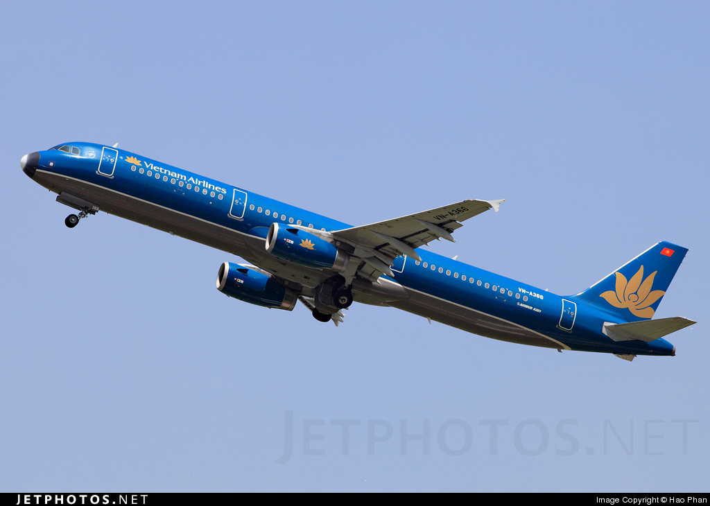 VN-A366 - Airbus A321-231 - Vietnam Airlines