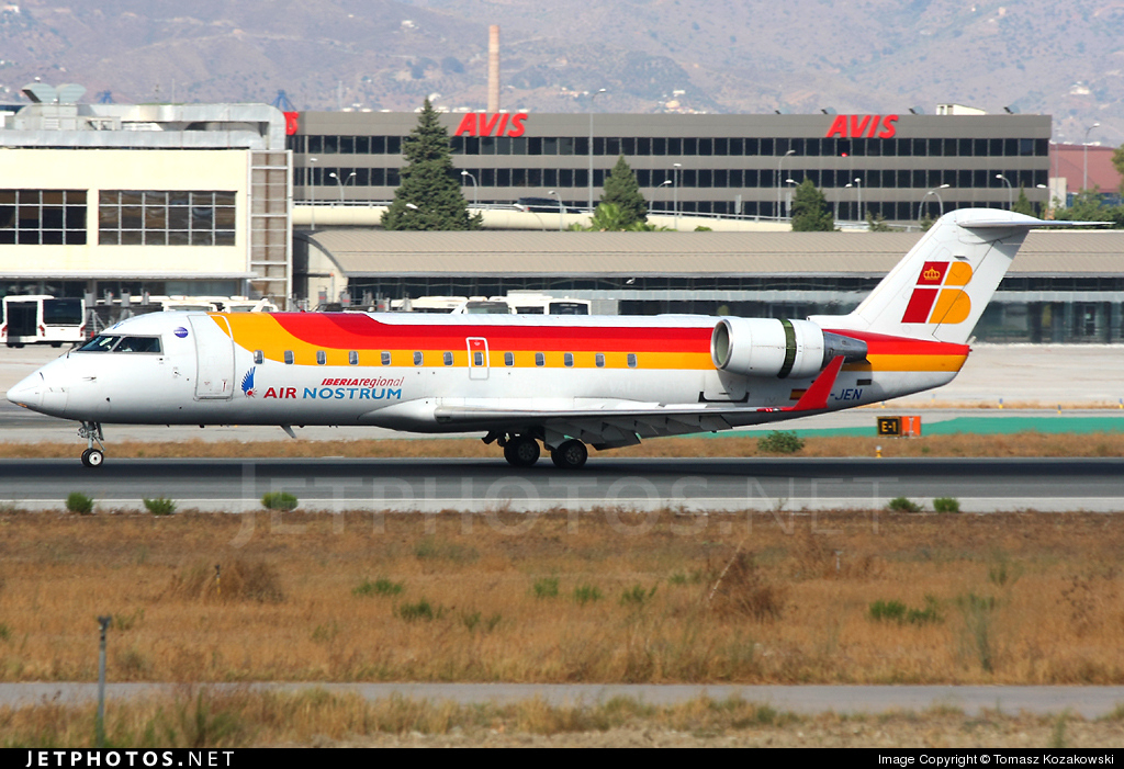 EC-JEN - Bombardier CRJ-200ER - Iberia Regional (Air Nostrum)