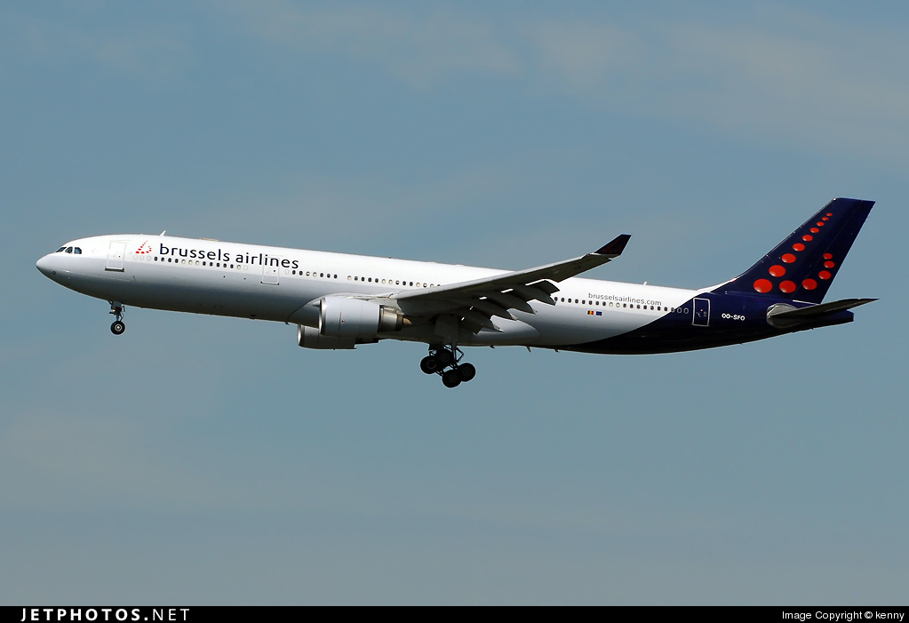 OO-SFO - Airbus A330-301 - Brussels Airlines
